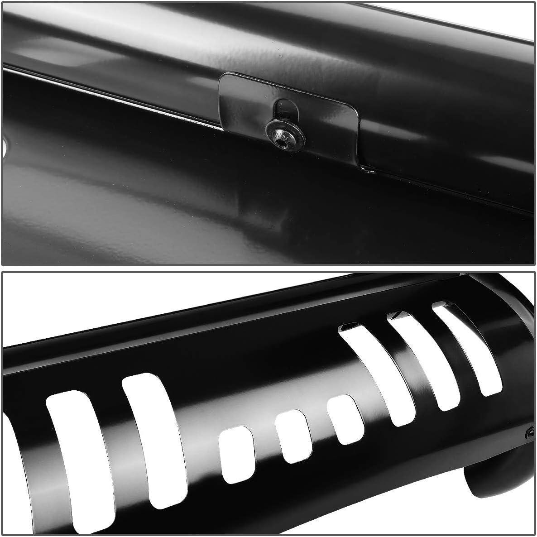 DNA MOTORING BURB-041-BK Stainless Steel 3 Bull Bar Front Bumper Grill Push Brush Guard