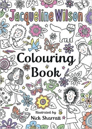 The Jacqueline Wilson Colouring Book: Amazon.co.uk: Jacqueline ...