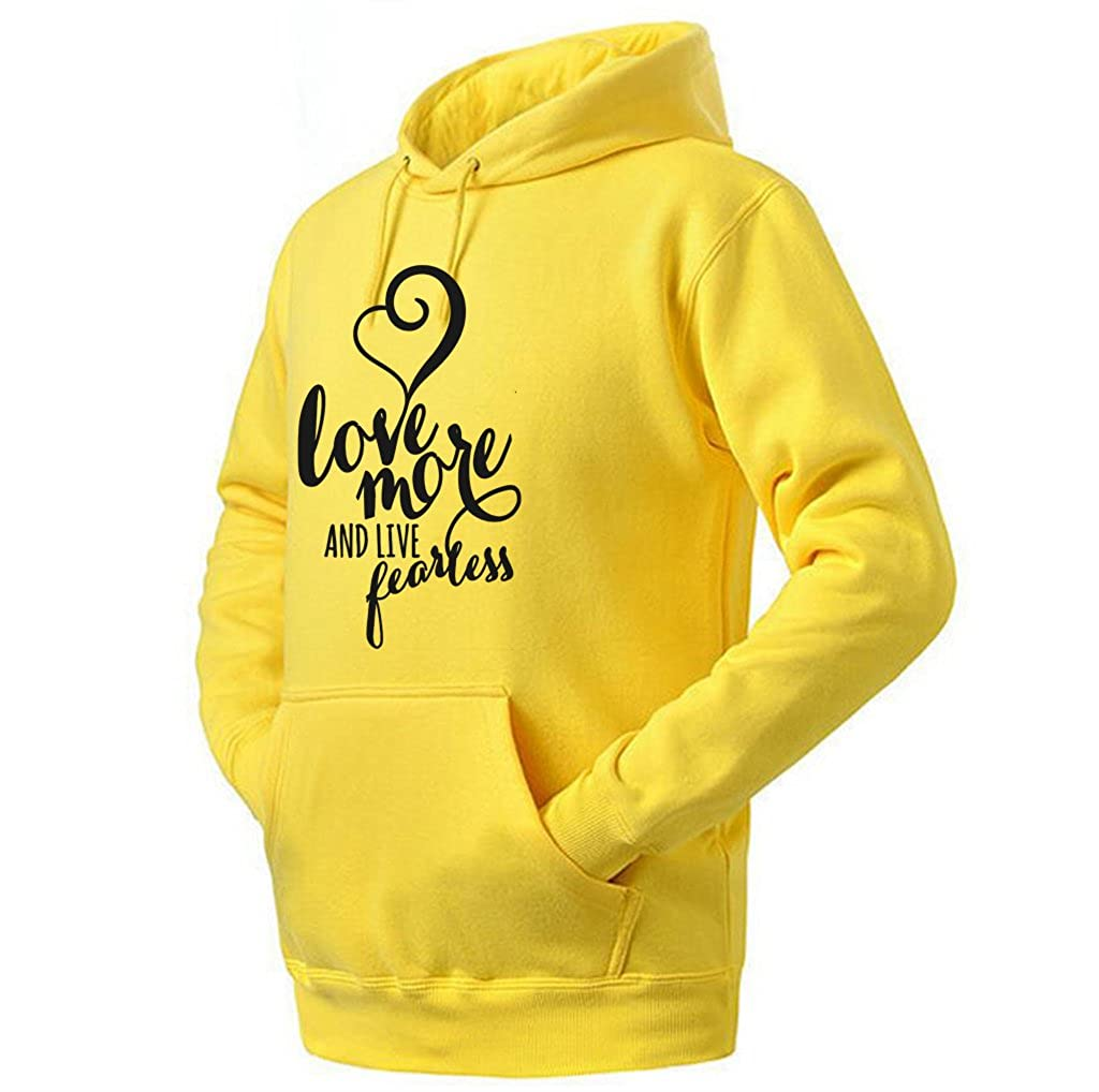 Ptarmigan Love More And Live Fearless Unisex Hoodie
