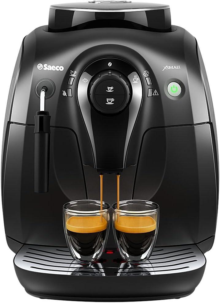 Saeco HD8645/47 Vapore Automatic Espresso Machine, X-Small, Black