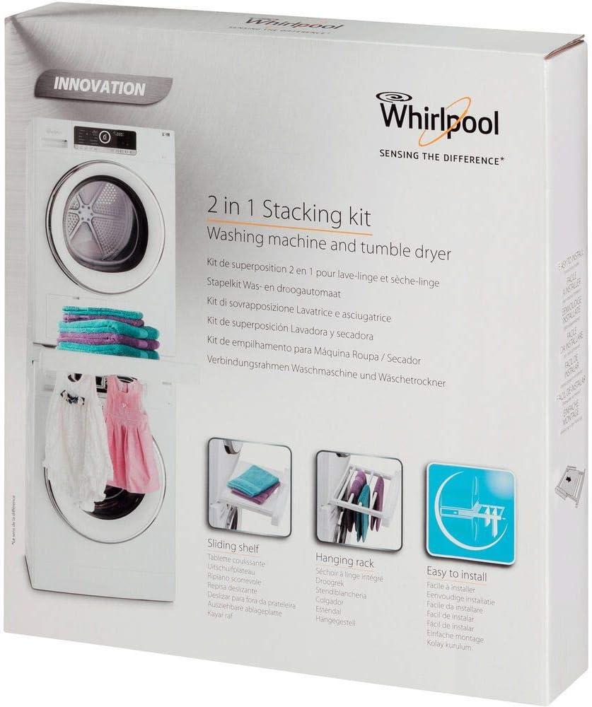 Whirlpool SKS 200 - Kit de superposición para lavadora y secadora ...