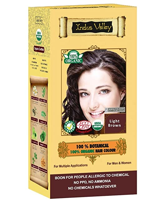 Amazon Com Indus Valley 100 Botanical 100 Organic Flame Red
