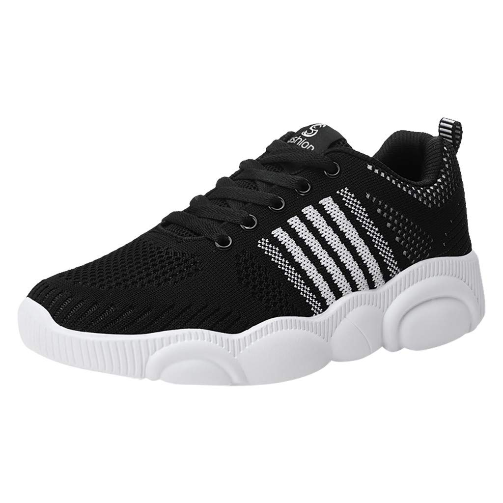 Men's Running Shoes Fashion Breathable Sneakers Mesh Soft Sole Casual Athletic Lightweight Walking Shoes by Dunacifa Women Shoes
