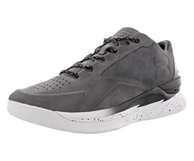 abe50155f9ac Under Armour Curry 1 Lux Low SDE Basketball Men s Shoes Size 8 Black White