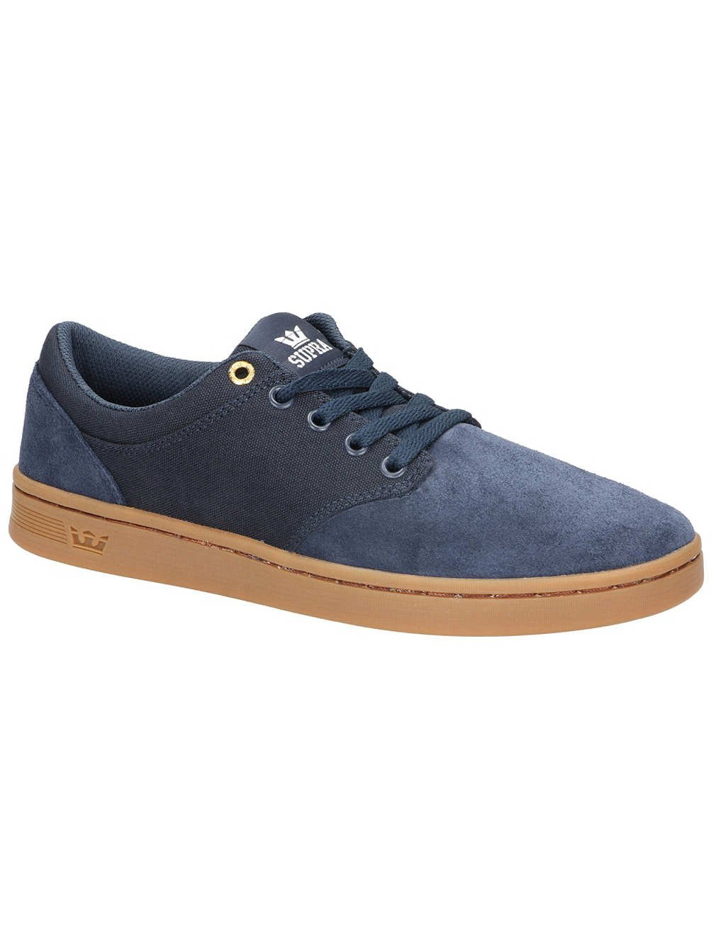 Supra Chino Court Skate Shoe 11.5 D(M) US|Midnight/Light Gum