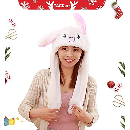 Analytical New Plush Stitch Ear Toys Hats Pinching Moving Ears Winter Animals Caps Girls Cosplay Party Performance Costume Kleidung & Accessoires