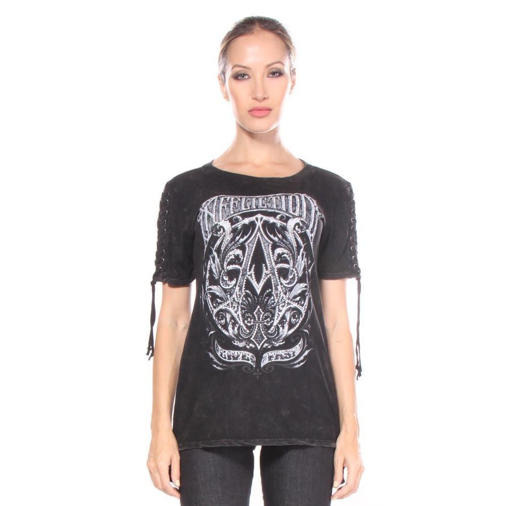 Camisetas es M Y Affliction Frame Mujeres Amazon Accesorios Ropa A RqT6gxnwS
