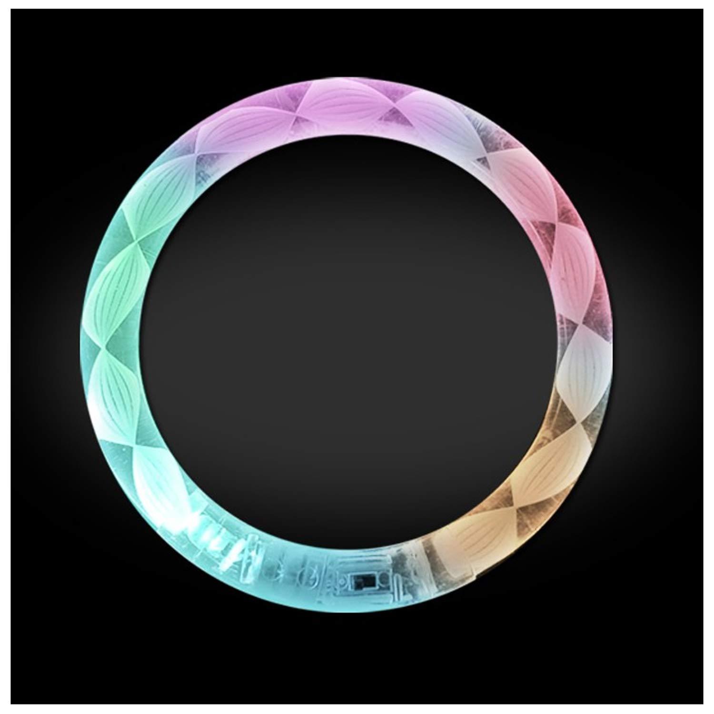 Lumistick LED Flashing Bangle Bracelet (5 Pack)