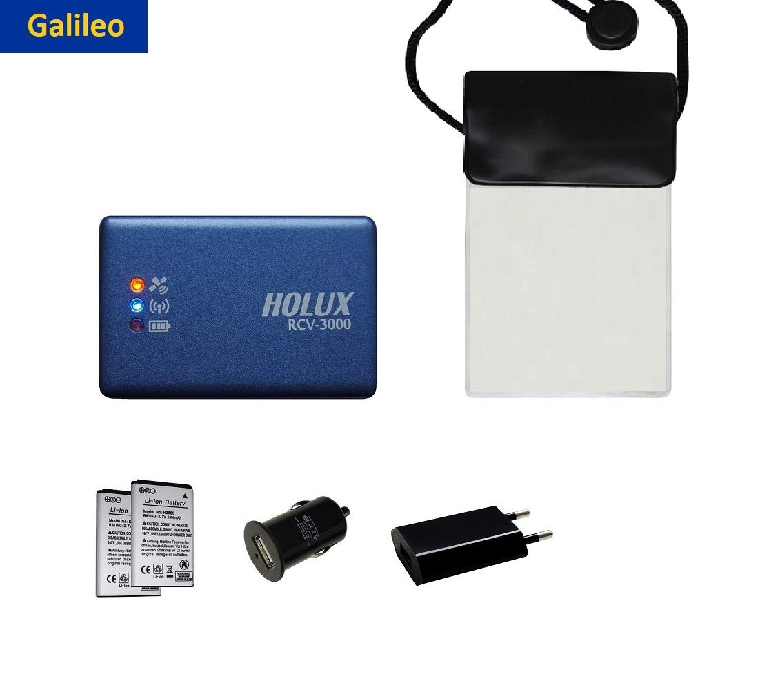 Standardpaket HOLUX RCV-3000 Bluetooth GNSS GPS//GLONASS Logger mit MT3333 Chipsatz