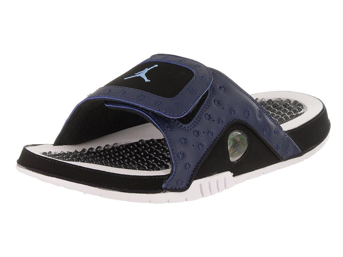 b8205113e69582 Nike Jordan Men s Jordan Hydro XIII Retro Midnight Navy University Blue  Sandal 8 Men US  Amazon.co.uk  Shoes   Bags