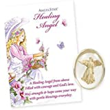 AngelStar Guardian Healing Angel Stone - With Gift Envelope & Free Postage