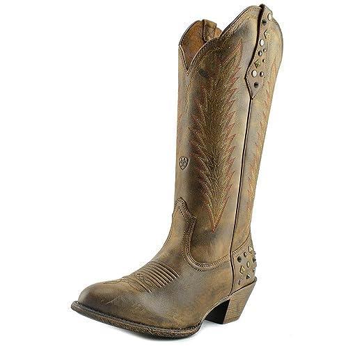 531651750 Ariat Dusty Diamond Cowboy Boots  Amazon.co.uk  Shoes   Bags