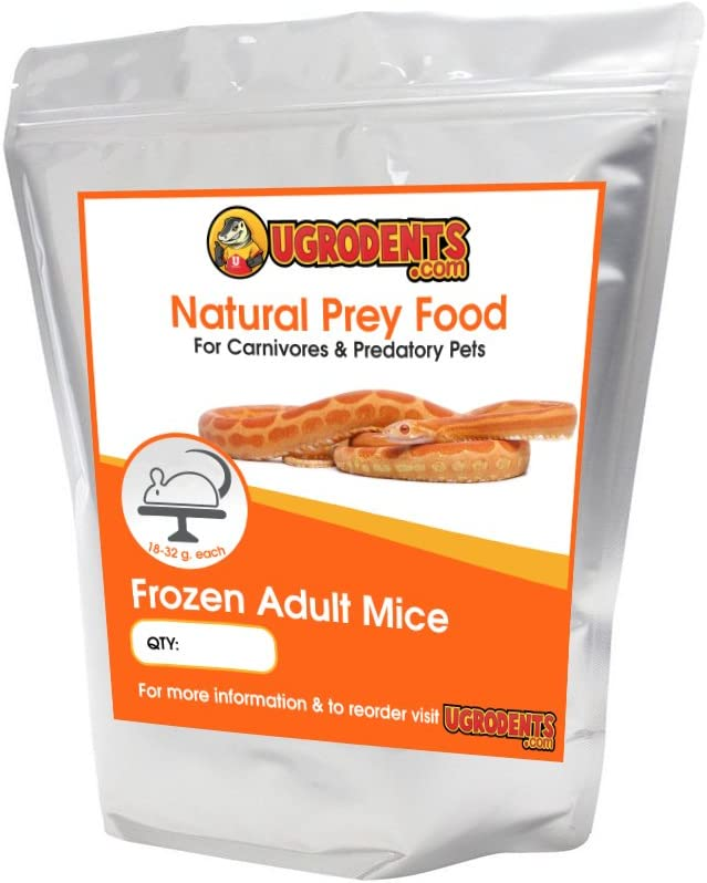 UGRodents 50-Pack Frozen Adult Mice