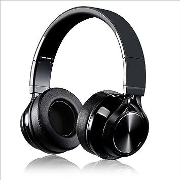 QIHANGCHEPIN Auriculares inalámbricos Bluetooth Micrófono Alta fidelidad Estéreo plegable Auriculares ajustables Reducción de ruido Tabletas para