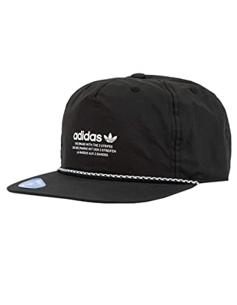 f7075be785d8e adidas Originals Men s Originals Relaxed Decon Rope Strapback Black White  One Size at Amazon Men s Clothing store