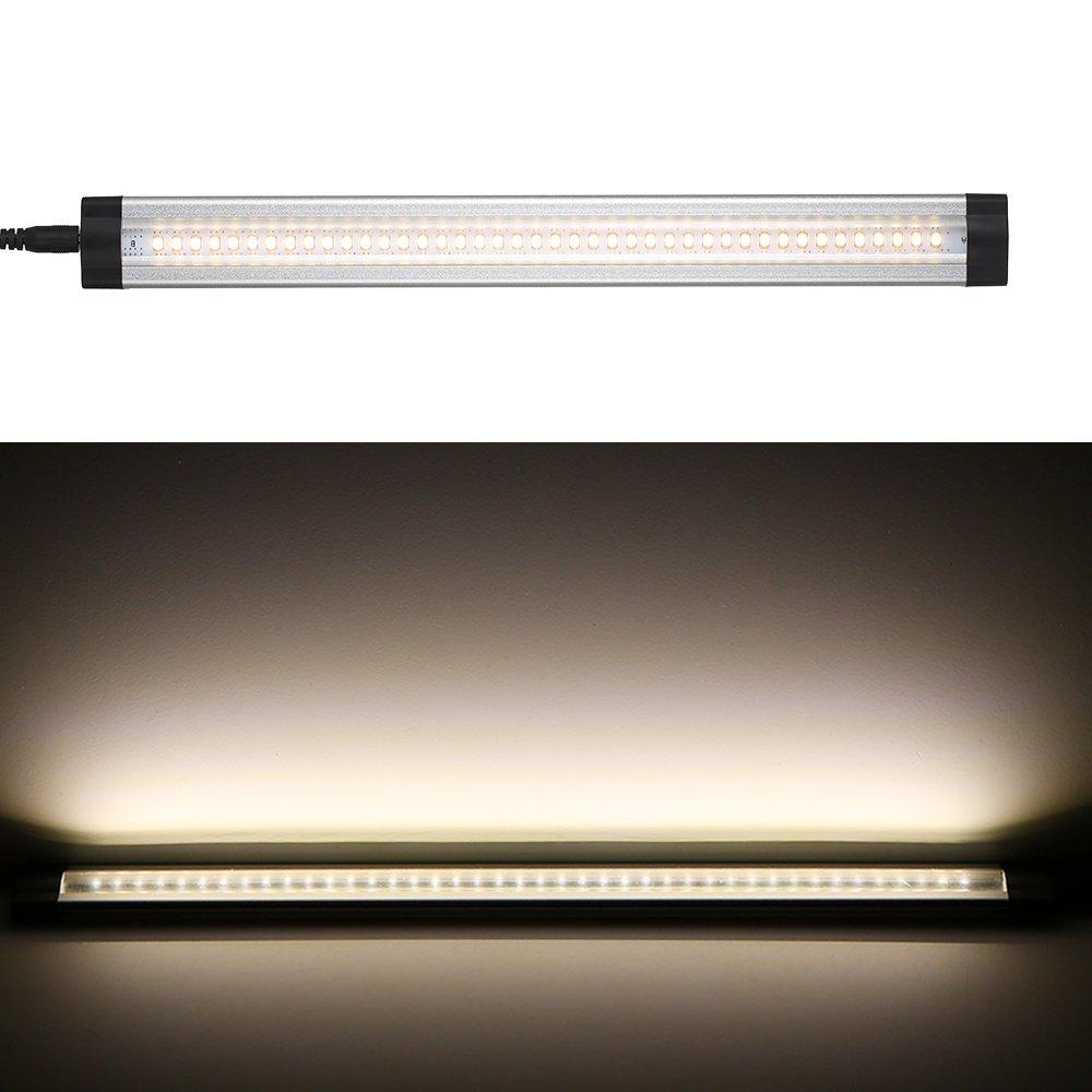 Lixada 3pcs LED下キャビネットライトキットwithリモートコントロールsmd3528調光機能付き明るさ調節可能なすべてのアクセサリーprovided forキッチンリビングルームダイニングホールキャビネットクローゼット B07B9XK9TC