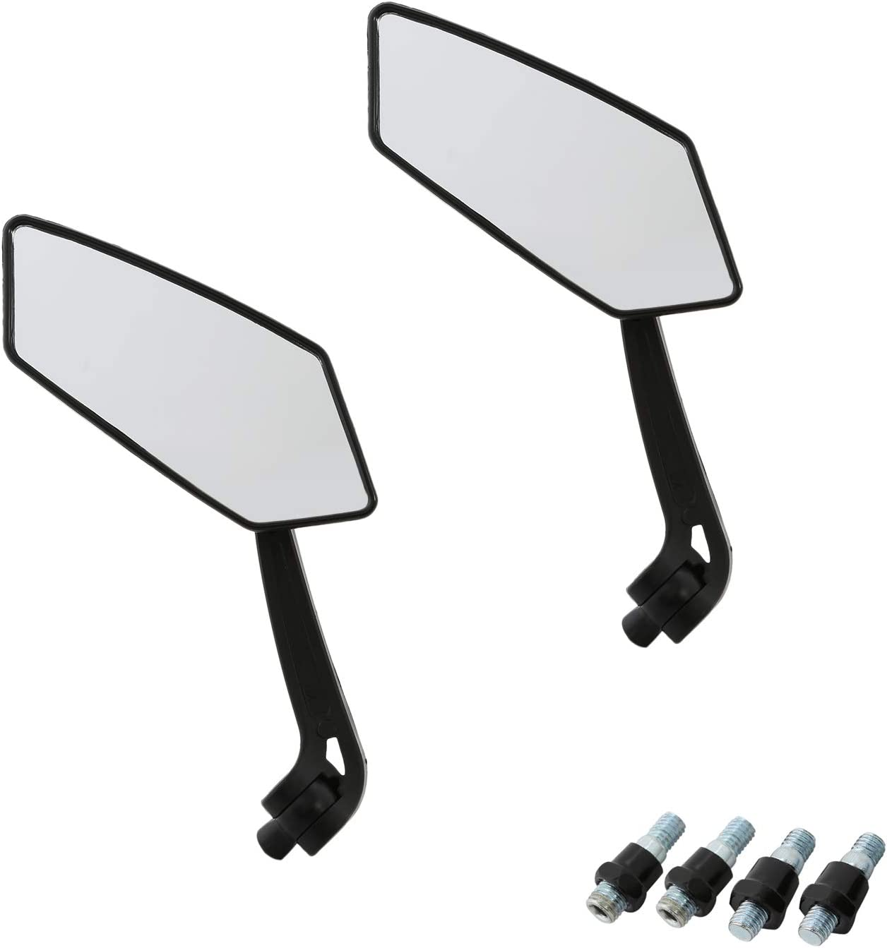 CICMOD Custom Universal Motorcycle Rearview Side Mirrors for Sports bike Choppers Cruiser