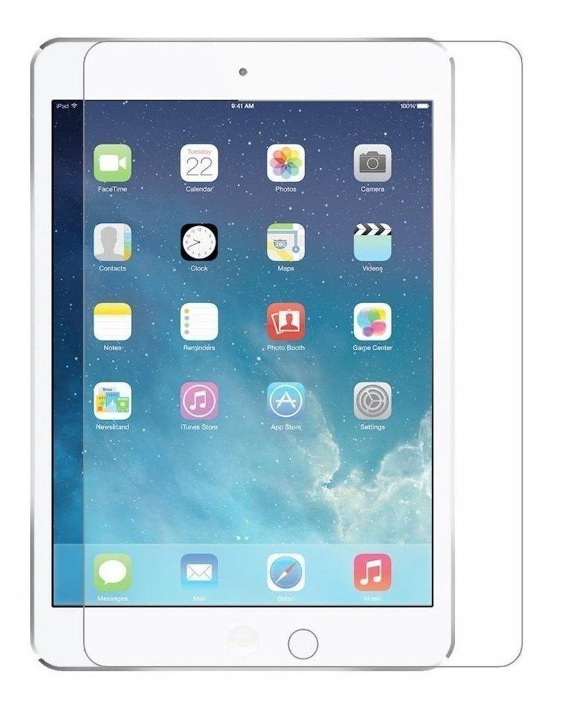 Protector de pantalla Cristal templado para IPAD AIR 1 y 2 Calidad HD, Grosor 0,3mm, Bordes redondeados 2,5D, alta resistencia a golpes 9H.