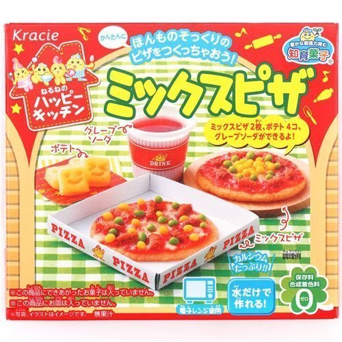 Happy Kitchen Mini Pizza Kracie Popin Cookin DIY candy