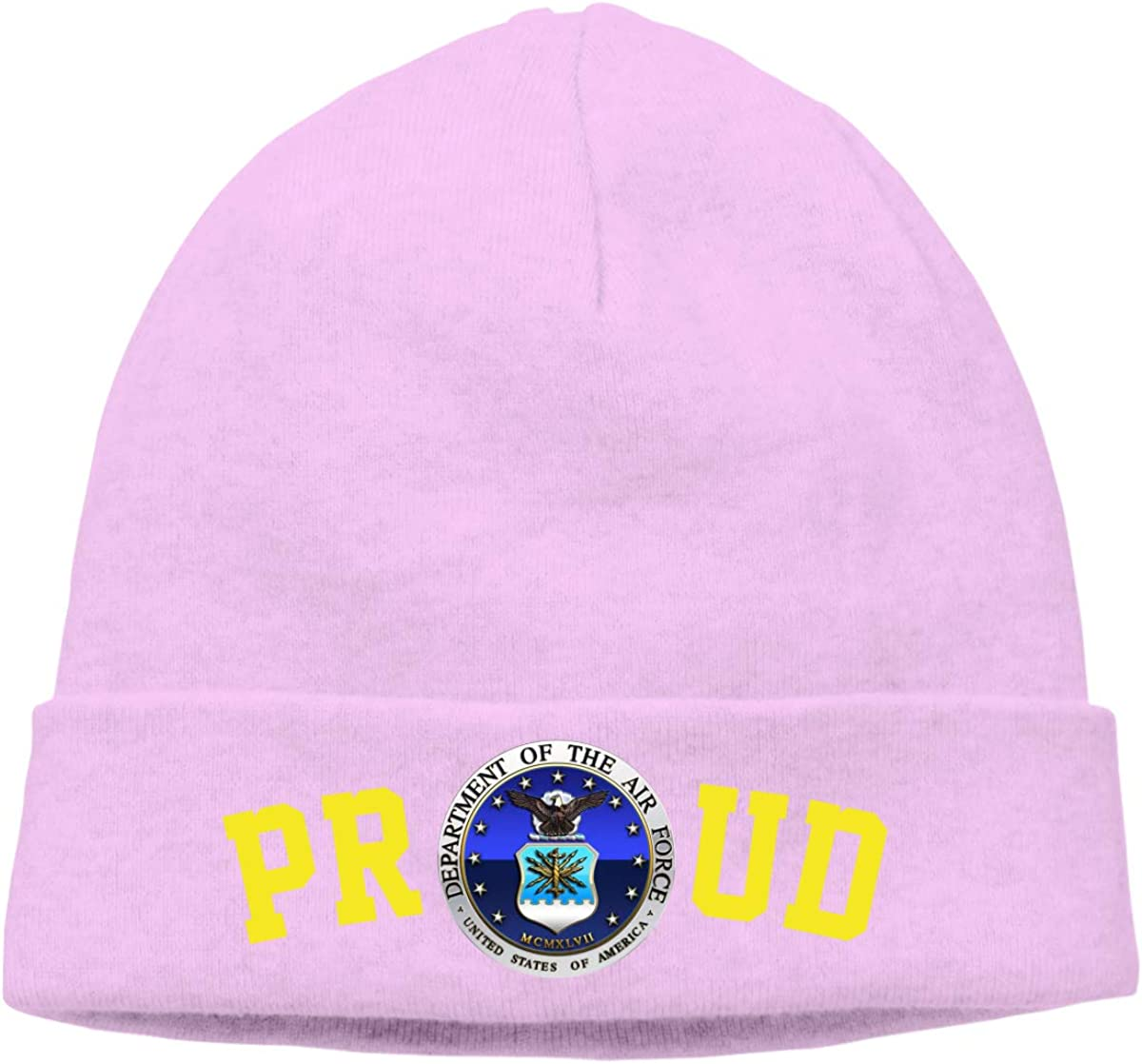 FORDSAN CP Proud US Department of The AIR Force Mens Beanie Cap Skull Cap Winter Warm Knitting Hats.