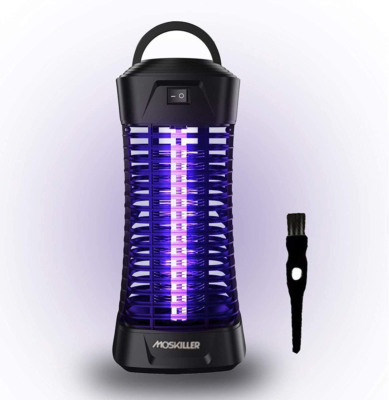 2xMoskito Killer Insektenvernichter elektrisch LED-UV Lampe Mücken Fliegen Falle