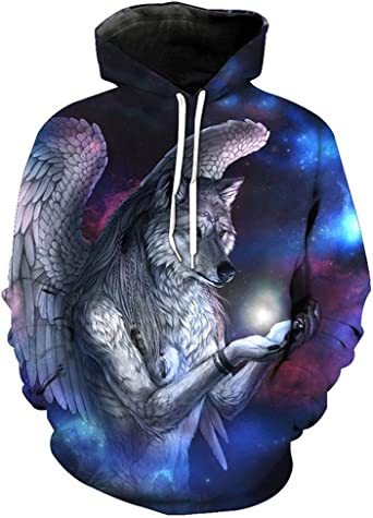 3D Hoodies Hooded Sweatshirts Print Motorcycle Hipster Streetwear Pullover Casual Tracksuits Hip Hop Tops