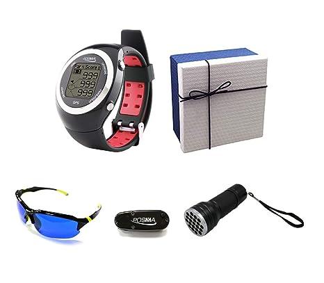 SYMTOP POSMA GS-GT2B Reloj con GPS Telémetro Golf Deporte para ...