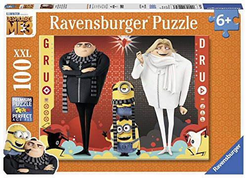 (Ravensburger Universal: Despicable Me3 100 Piece Jigsaw Puzzle for Kids – Every Piece is Unique, Pieces Fit Together Perfectly)