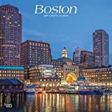 Boston 2019 12 x 12 Inch Monthly Square Wall Calendar, USA United States of America Massachusetts Northeast City