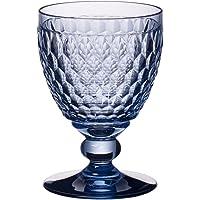 Villeroy & Boch 1173097828 Boston Wine Claret Set of 4 - Blue