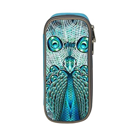 Amazon.com: Peafowl Peacock - Estuche portátil con ...