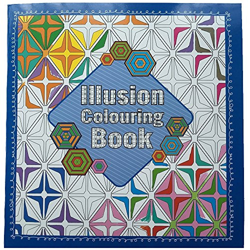 Illusion Adult Colouring Book