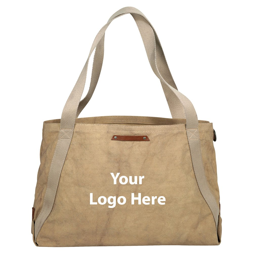 Alternative Cotton Boat Tote - 12 Quantity - $34.50 Each - PROMOTIONAL PRODUCT / BULK / BRANDED with YOUR LOGO / CUSTOMIZED