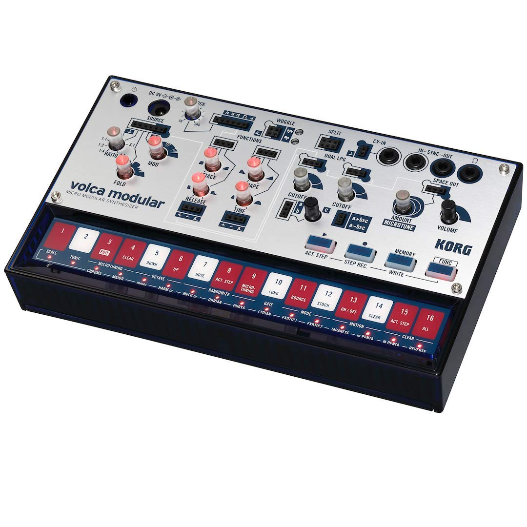 Korg Volca Modular Semi-Modular Synthesizer with Sequencer by Korg (Image #4)