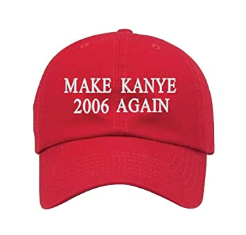 308d12b373a42 Amazon.com: Parazon Custom Personalized Embroidered Make Kanye 2006 ...