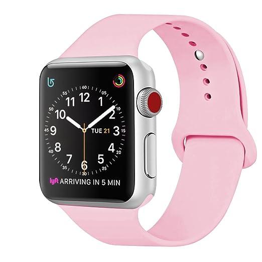 265 opinioni per ZRO Cinturino for Apple Watch, Morbido Silicone Braccialetto Sportiva di