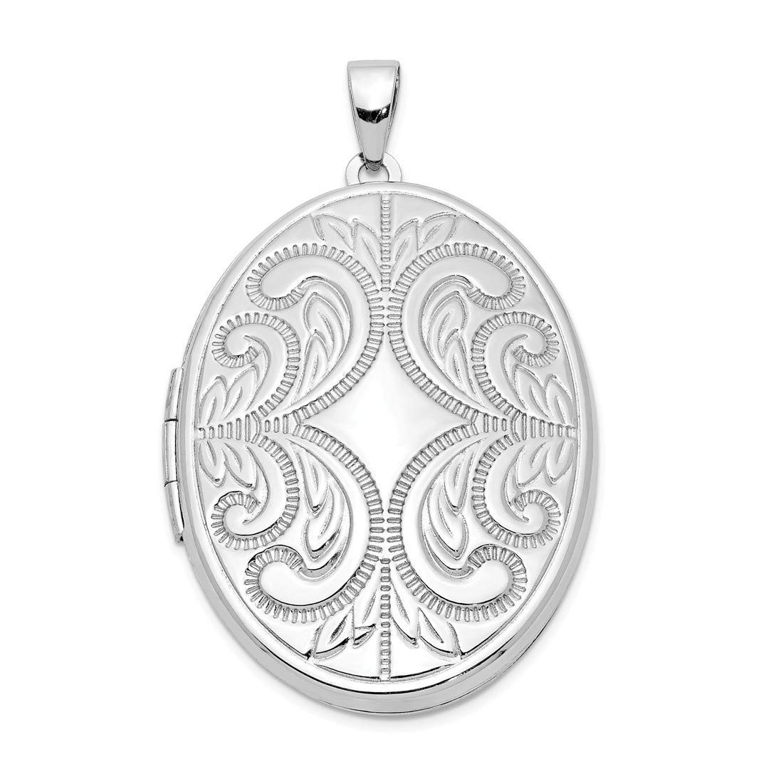 ICE CARATS 925 Sterling Silver Oval Scroll 6 Frame Photo Pendant Charm Locket Chain Necklace That Holds Pictures Fine Jewelry Ideal Gifts For Women Gift Set From Heart