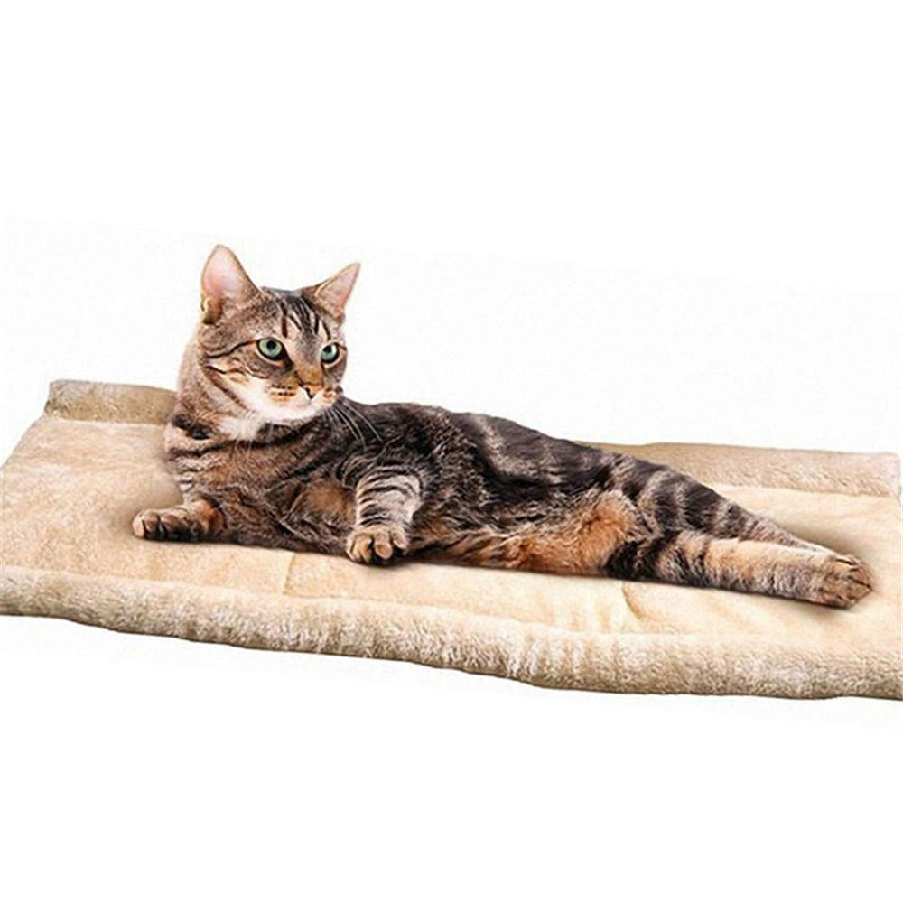 Wuwenw New Pet Cat Mat Cotone Pet House Soft Soft Soft Fleece Piccolo Cane Nest Bed Puppy Peluche Cosy Cat Warm Bed Casa 90  57Cm 581597