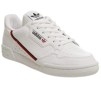 598b9e3b53 adidas Continental 80 J J, Chaussures de Fitness Mixte Enfant, Blanc (FTW  Bla/