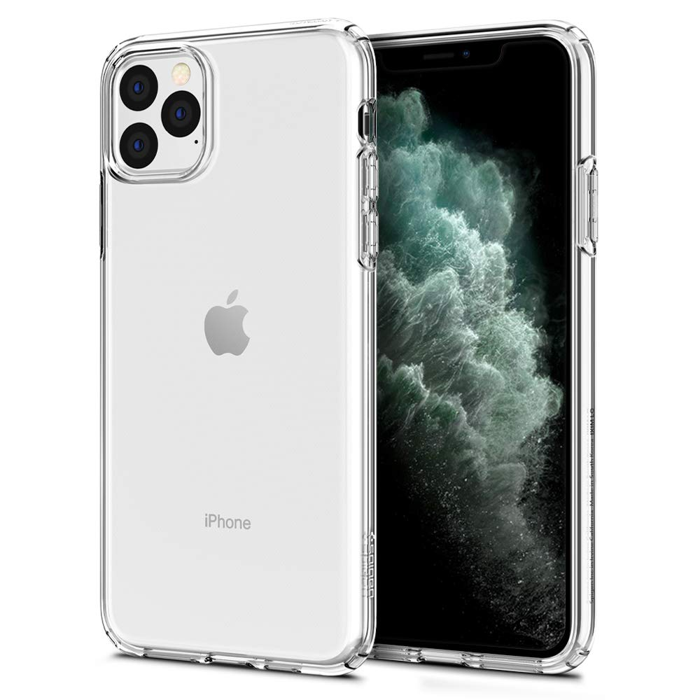 Funda iPhone 11 Pro Max Spigen Liquid Crystal, Crystal Clear
