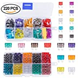 #7: Blade Car Fuses Assortment Kit 220PCS –Standard & Mini (2A/3A/5A/7.5A/10A/15A/20A/25A/30A/35A)