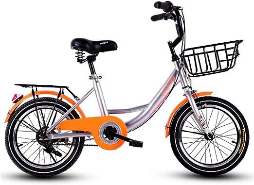 DT Bicicleta para niños 6-7-8-9-10 años Muchacha de Bicicleta Niño ...