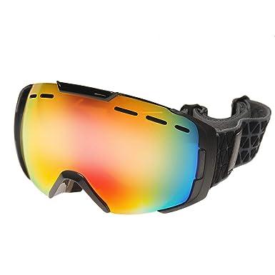 51cc9042a121 Nevica Mens Whistler Ski Goggles Black  Amazon.co.uk  Clothing