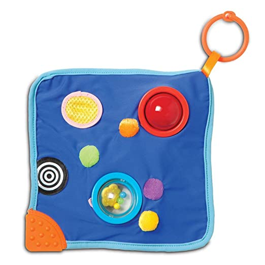 Amazon.com  Manhattan Toy Whoozit Space Blankie Sensory Development Toy   Toys   Games 0b3721671d576