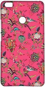 Macmerise Payal Singhal Chidiya Pink Sublime Case For Xiaomi Mi Max