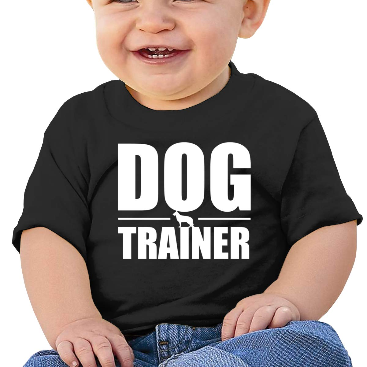 Qiop Nee Dog Trainer Short-Sleeves T-Shirts Baby Girl