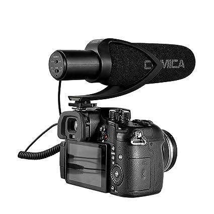 allcaca cámara supercardioide de micrófono entrevista cámara ...