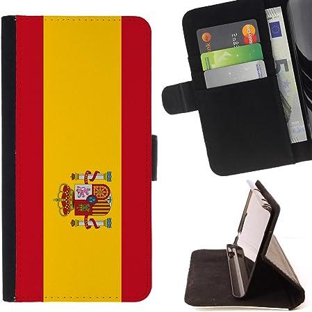STPlus España Bandera española Monedero Carcasa Funda para Samsung Galaxy Core Prime: Amazon.es: Electrónica