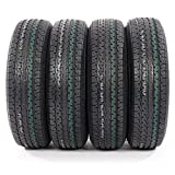 ST225/75R15 Load Range E Radial Trailer Tires 10 Ply 2257515 (Pack of 4)