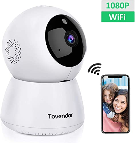 Tovendor IP Camera WiFi 1080P Home Dome Security System
